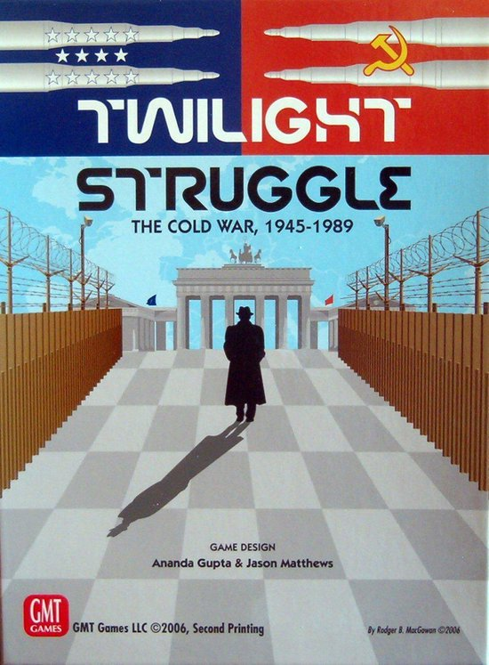 Twilight struggle strategiespel